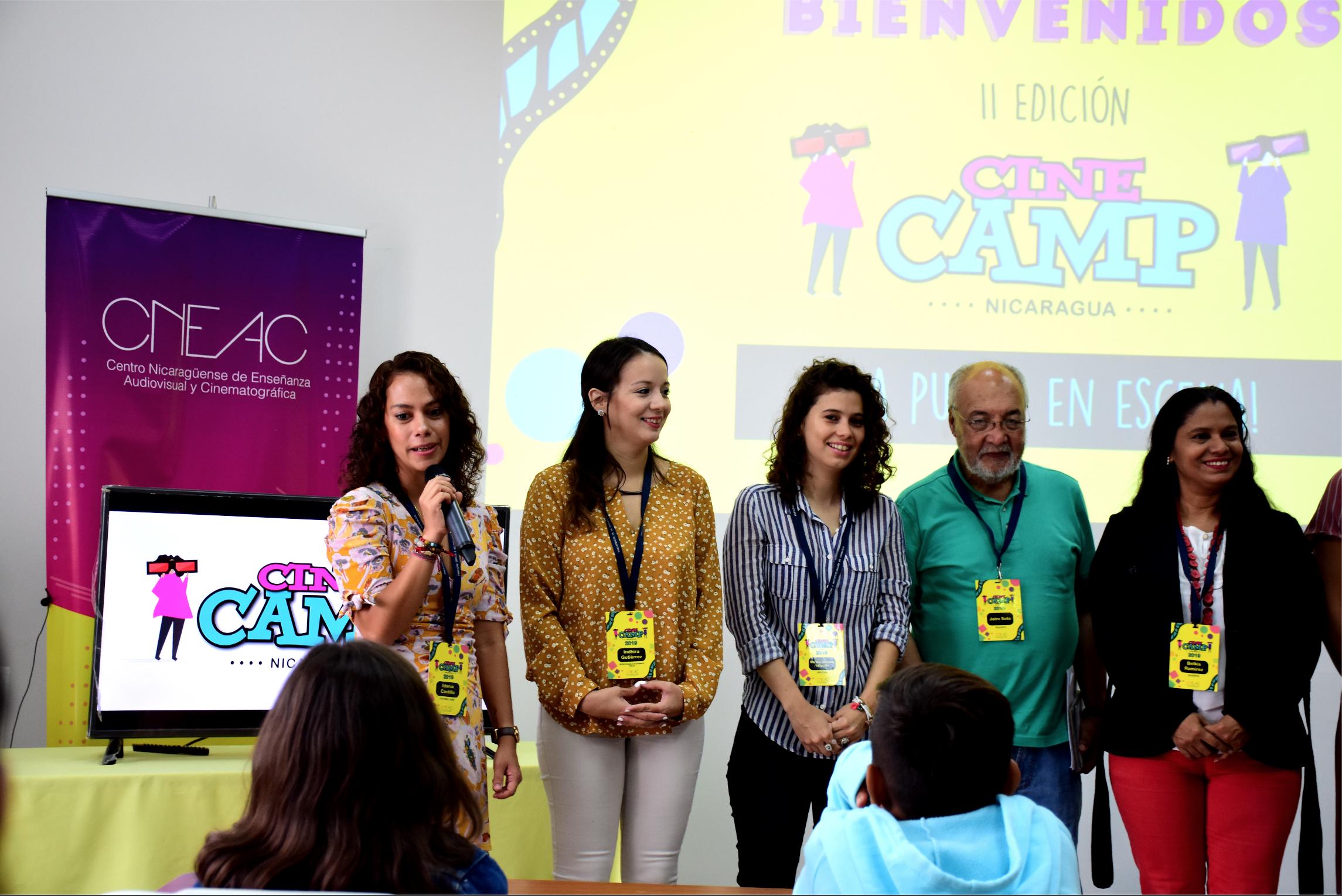 Inicia la 2da Edición Cine Camp Nicaragua: ¡La puesta en escena! - Cinemateca Nacional Nicaragua