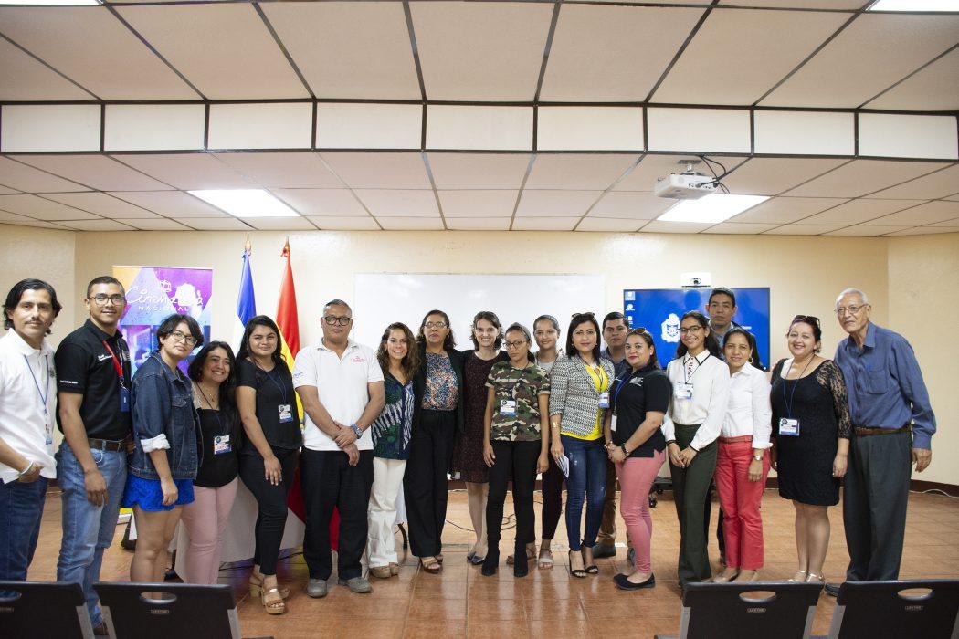 La Cinemateca Nacional participa en el XII Congreso Centroamericano de Antropología en la UNAN-MANAGUA